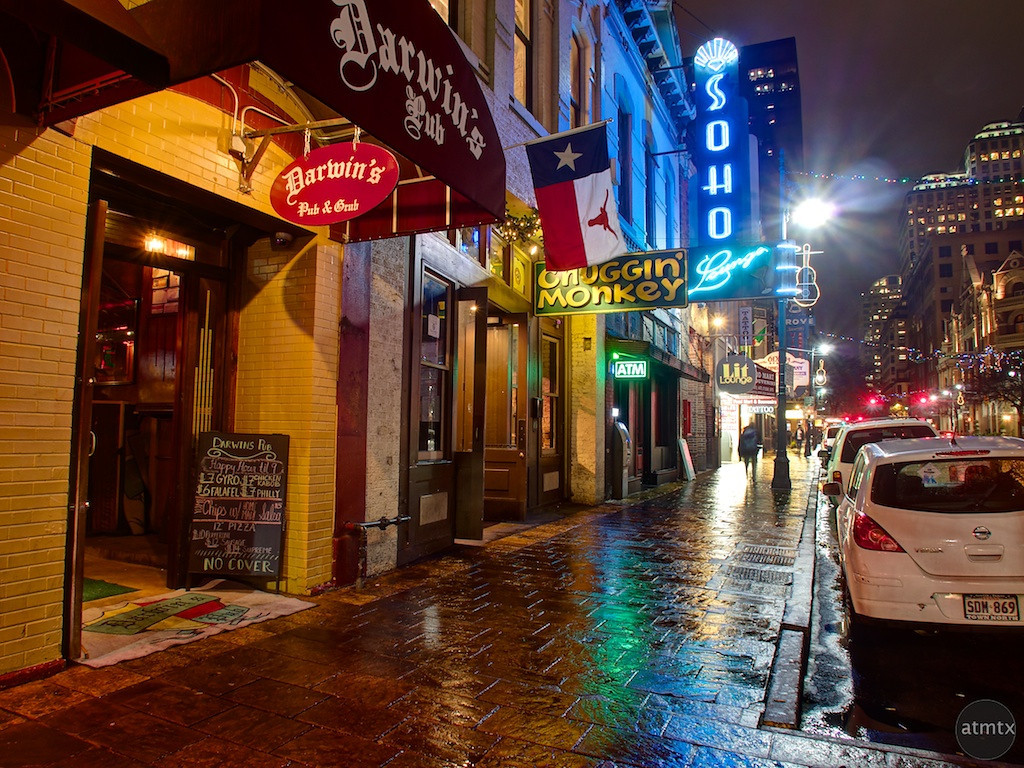Darwin's Pub, 6th Street - Austin, Texas