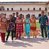 Colorful Teens, Agra Fort - Agra, India