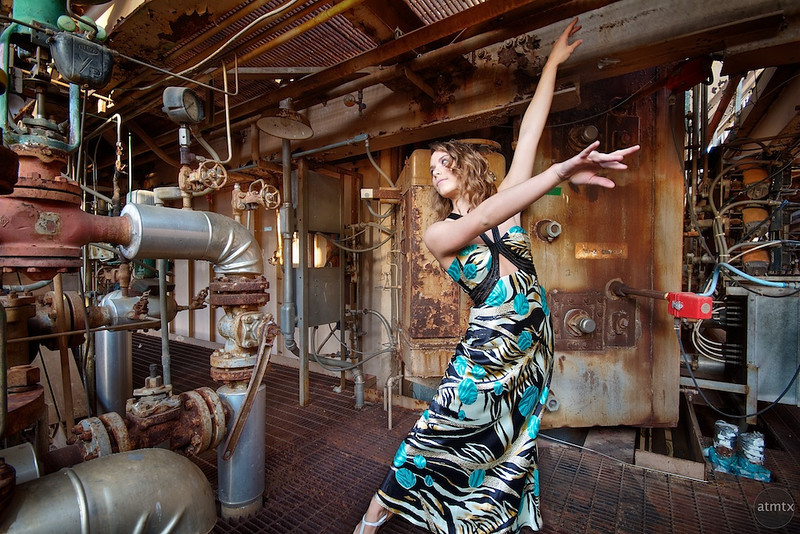 Victoria Mooney, Dancing, Holly Power Plant - Austin, Texas