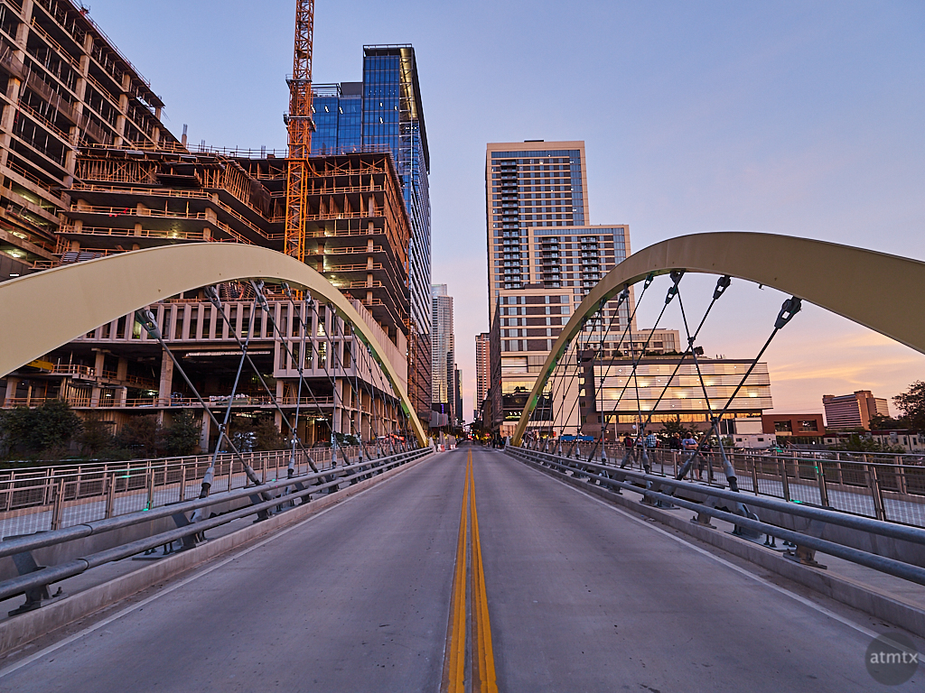 2nd Street Bridge, Completed - Austin, Texas