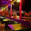 Colorful Outdoor Seating, El Mercado - Austin, Texas