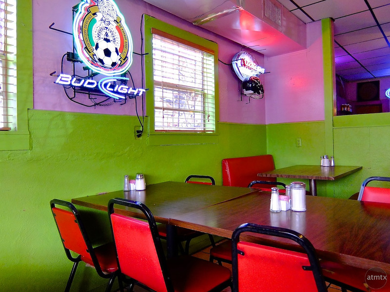 Bold Colors, El Azteca Restaurant - Austin, Texas