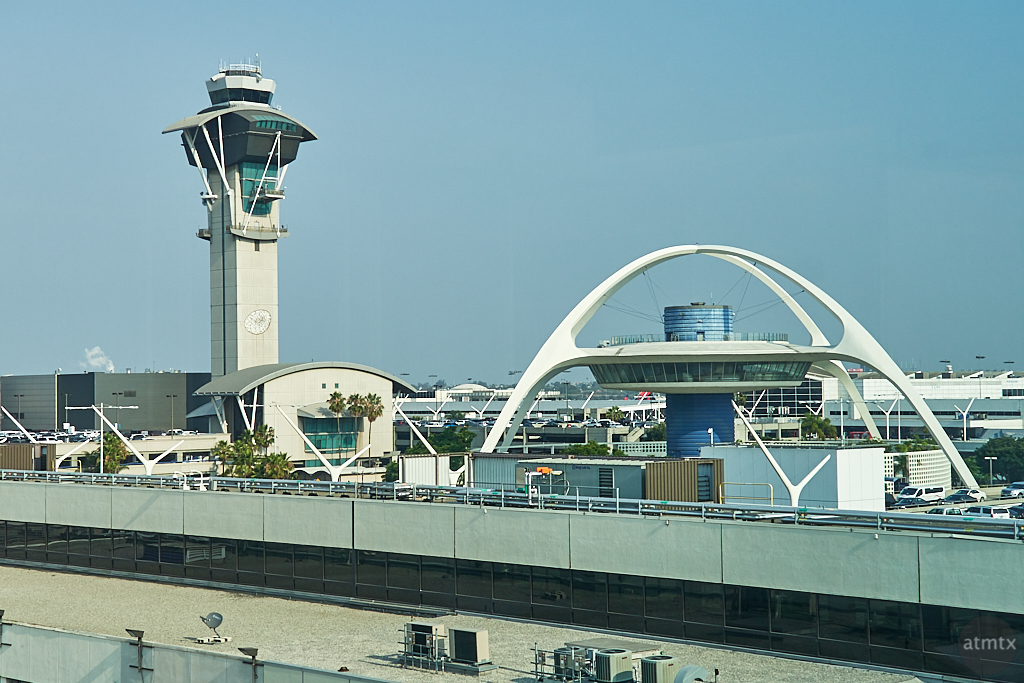Control Tower and Restaurant - Los Angeles, California