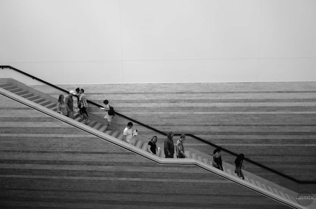 Stairs, Blanton Museum of Art - Austin, Texas