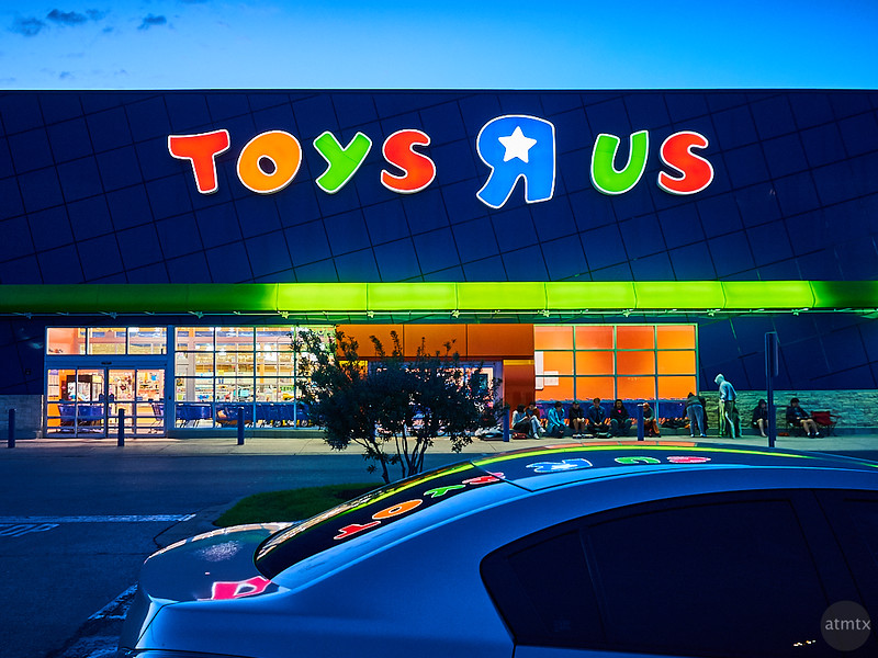 Toys R Us Reflections - Austin, Texas