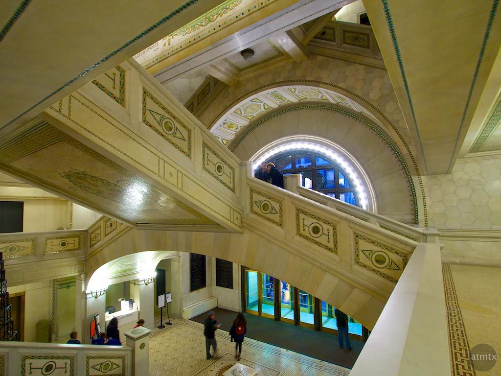 Interior, Chicago Cultural Center - Chicago, Illinois