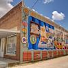 Woodmen Mural - Bertram, Texas