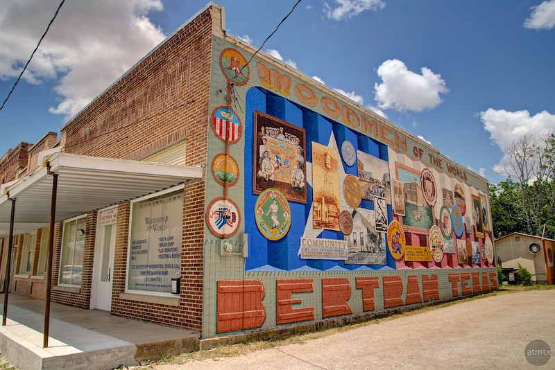 Woodmen Mural - Bertram, Texas