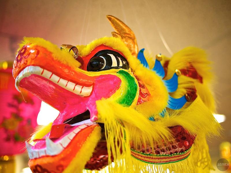Hanging Dragon, Chinatown Center - Austin, Texas