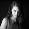 Keli, a portrait with strobes - Austin, Texas  (black and white)