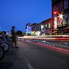 ROT Rally Light Trails - 6th Street, Austin, Texas