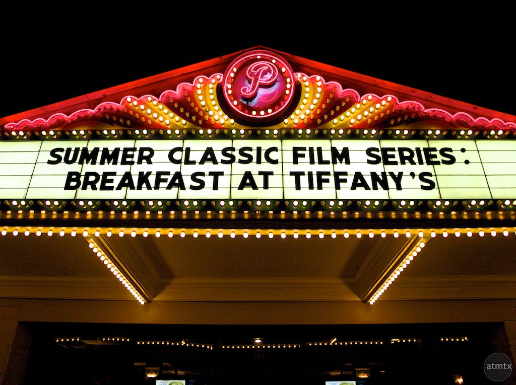 Paramount Theater Marquee - Austin, Texas