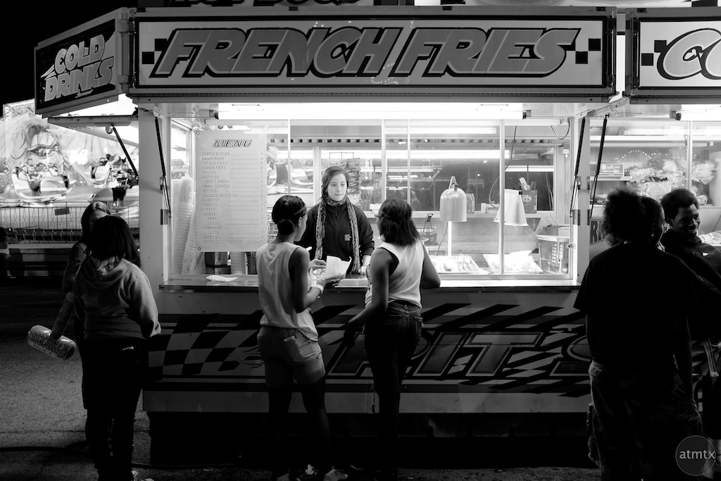 French Fries at the Rodeo - Austin, Texas