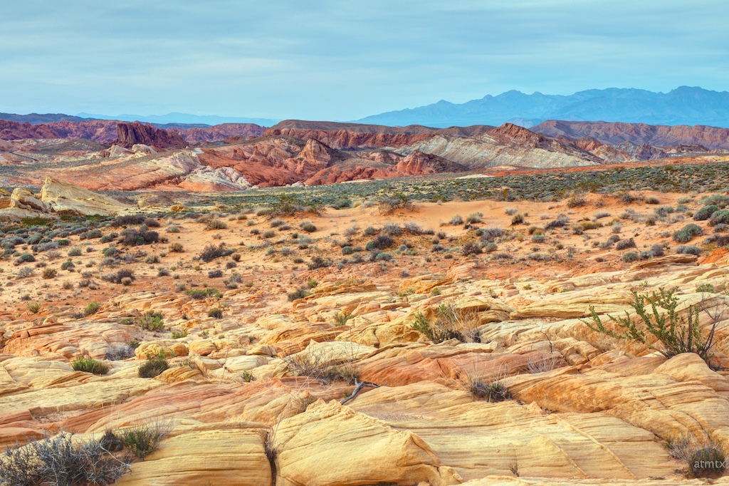 Like a Painting, Valley of Fire State Park - Overton, Nevada