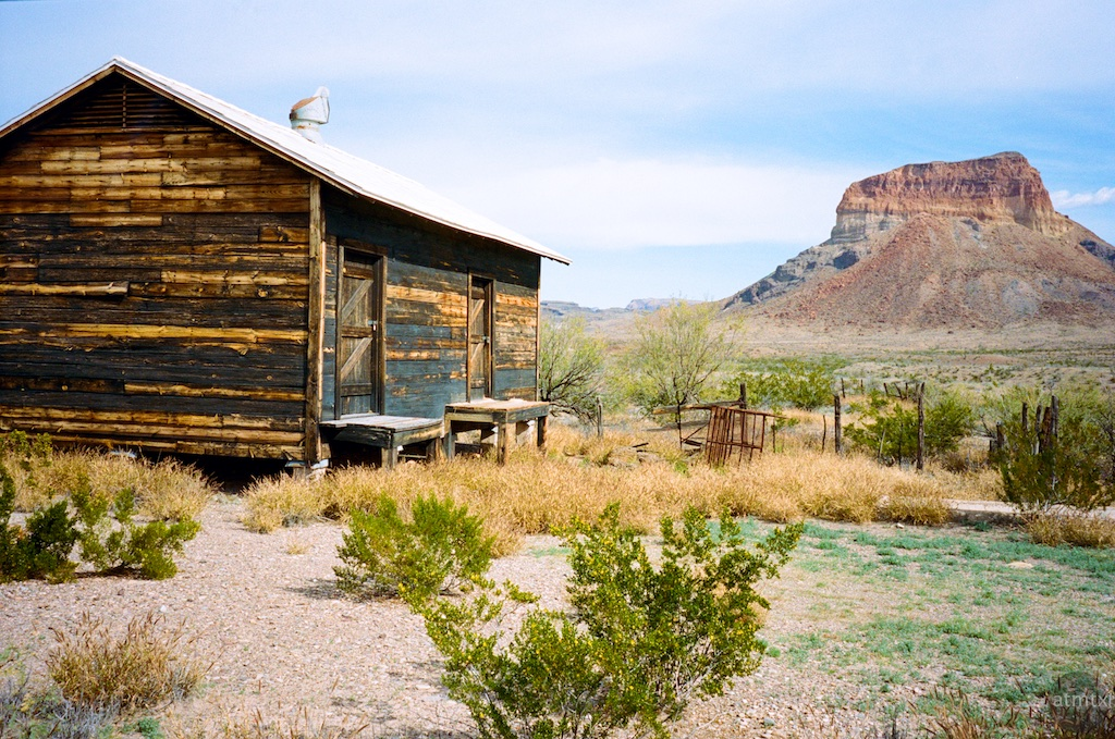 Cabin, Castolon - Big Bend National Park, Texas