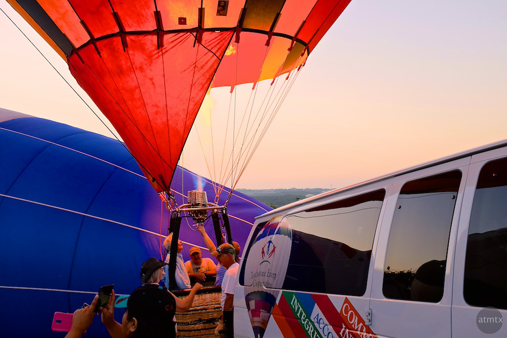2014 Lake Travis Hot Air Balloon Flight - Austin, Texas