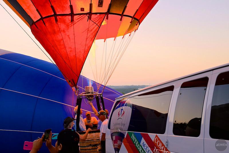 2014 Lake Travis Hot Air Balloon Flight #9 - Austin, Texas