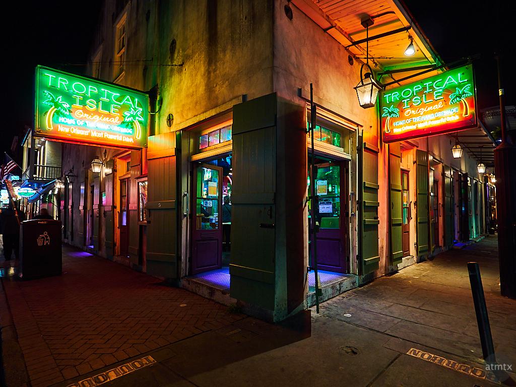 Tropical Isle, Bourbon Street - New Orleans, Louisiana