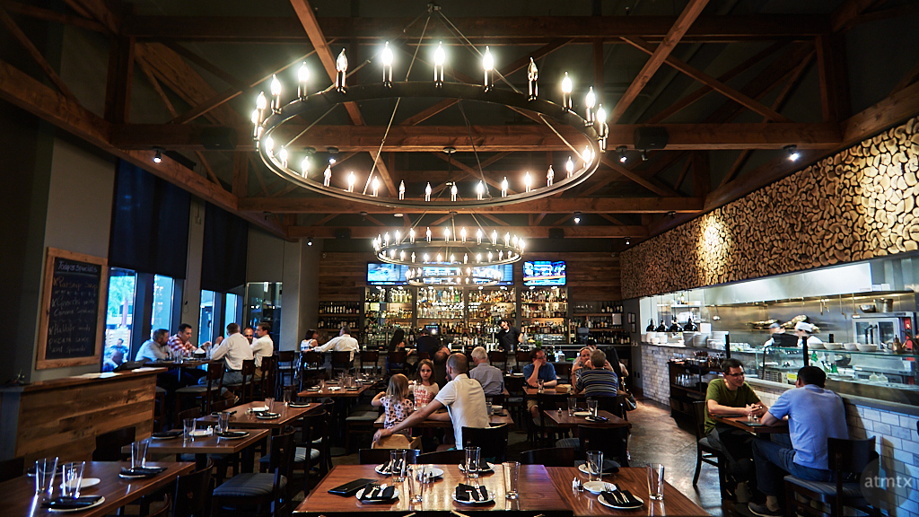Interior, Doppio Zero - Cupertino, California