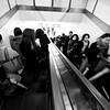 Escalator Blur - Tokyo, Japan