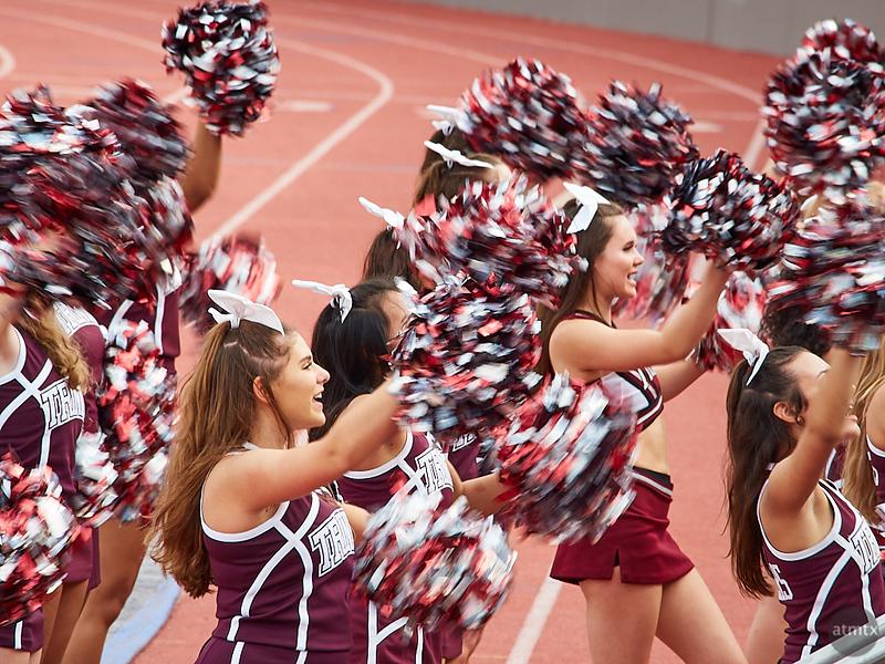 Cheerful Blur, Trinity University - San Antonio, Texas