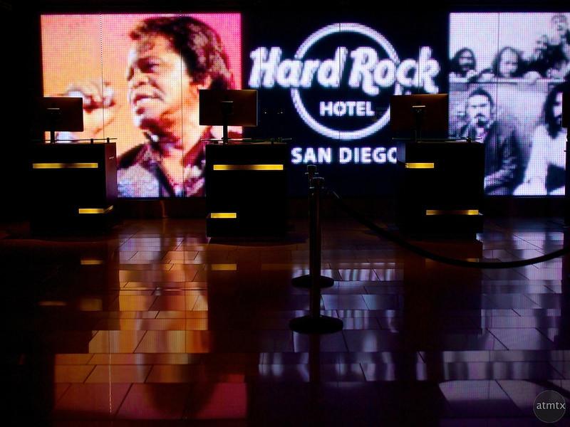 Lobby, Hard Rock Hotel - San Diego, California