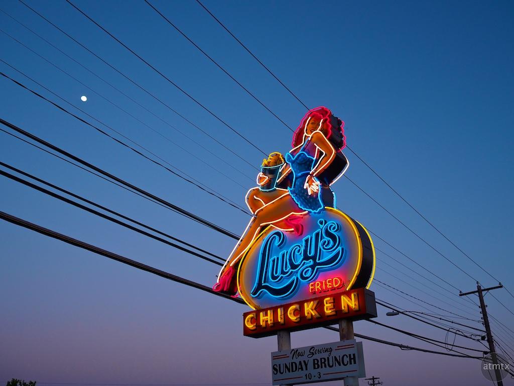 Lucy's Neon, Burnet Road - Austin, Texas