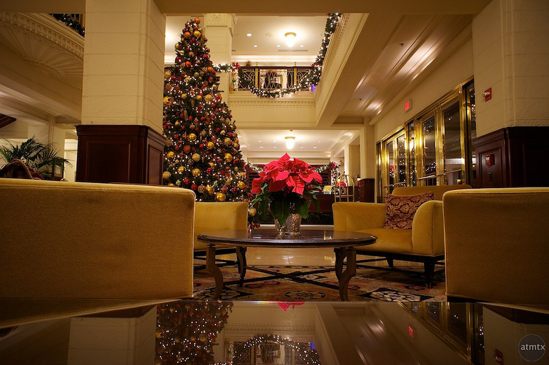 Intercontinental Hotel Christmas Decorations - Austin, Texas