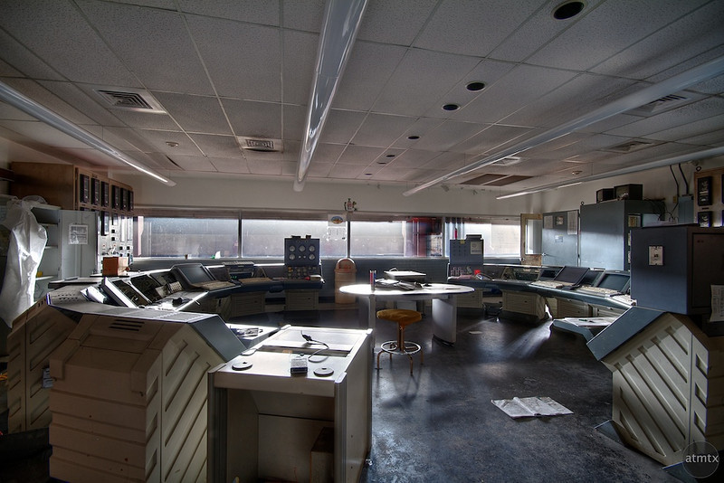 Holly Power Plant, Control Room #1 - Austin, Texas