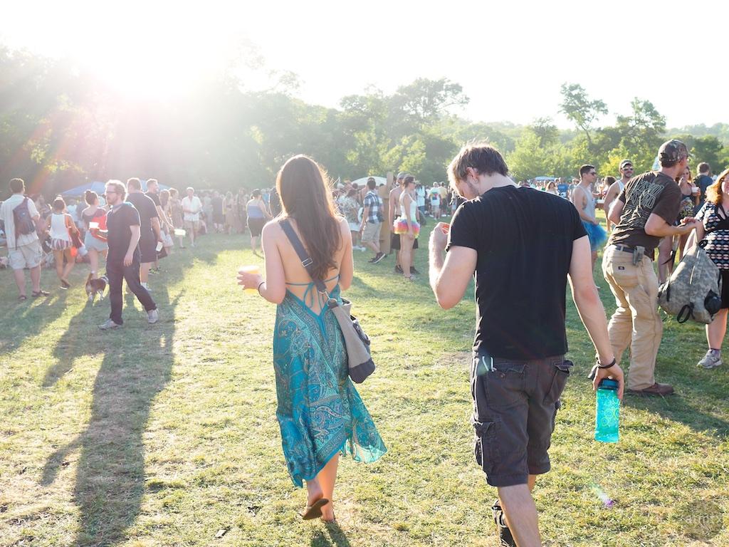 Into the light, Eeyore's Birthday Party 2015 - Austin, Texas