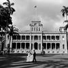 Photoshoot at the Iolani Palace - Honolulu, Hawaii