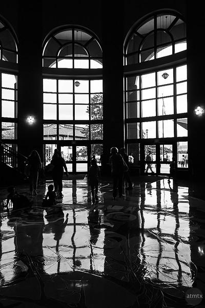 Rotunda Windows, Texas History Museum - Austin, Texas