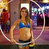 Rayne and her Hula Hoop, 2016 F1 Fan Fest - Austin, Texas
