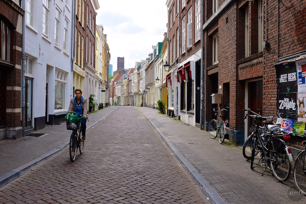 Biking Downtown - Utrecht, Netherlands