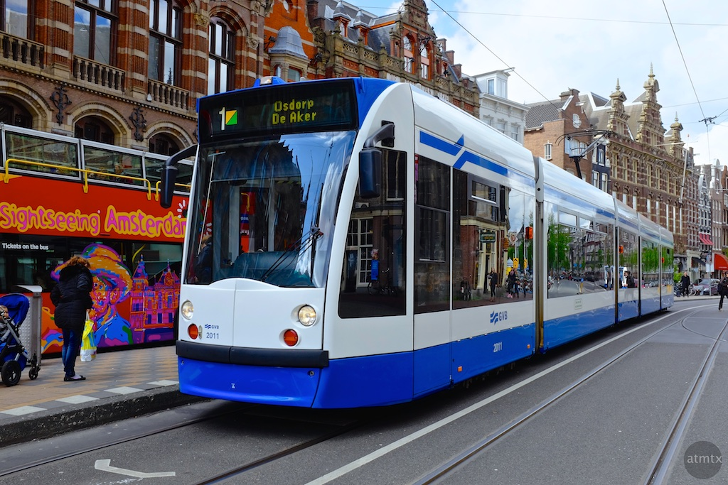 The Trams of Amsterdam #8 - Amsterdam, Netherlands
