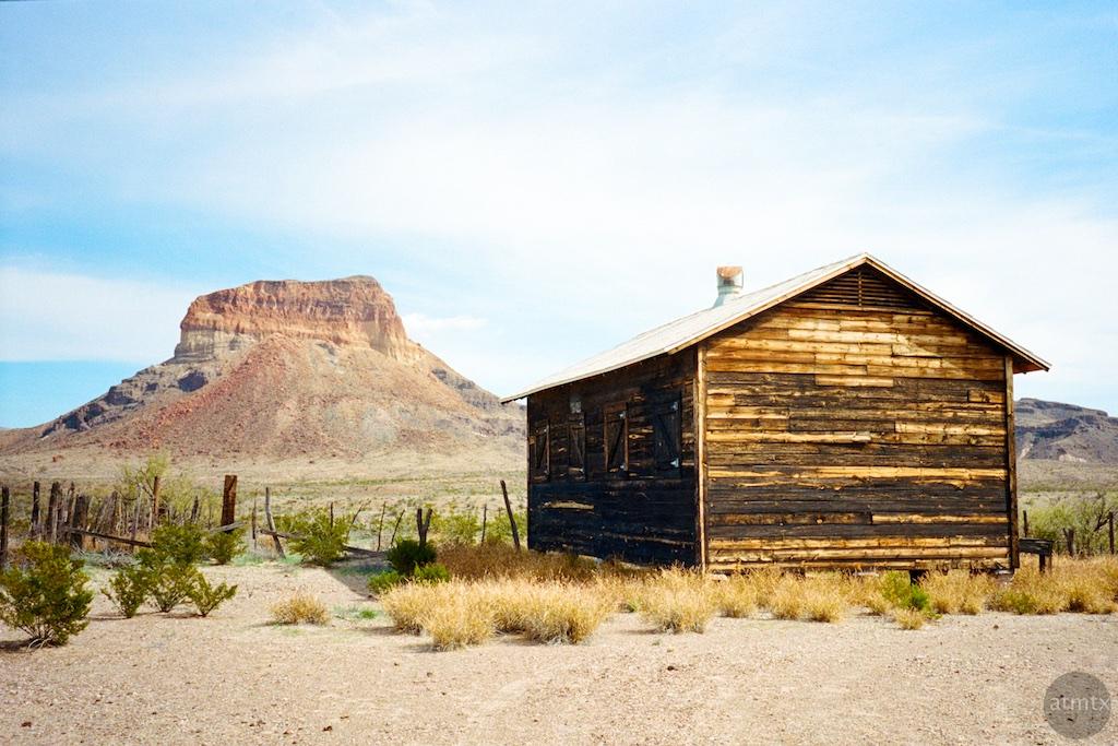 Little House in the Desert - Big Bend National Park, Texas