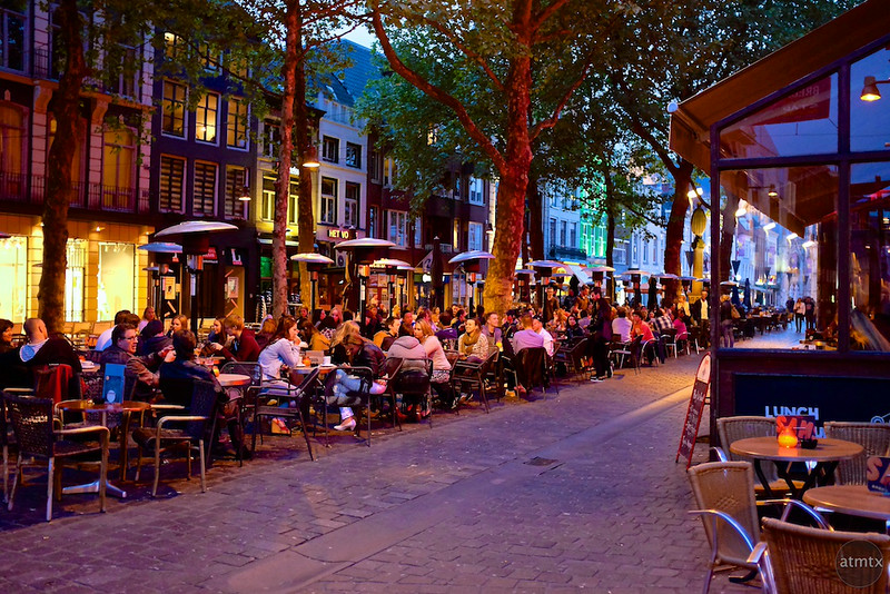 Crowded Outdoor Seating - Breda, Netherlands