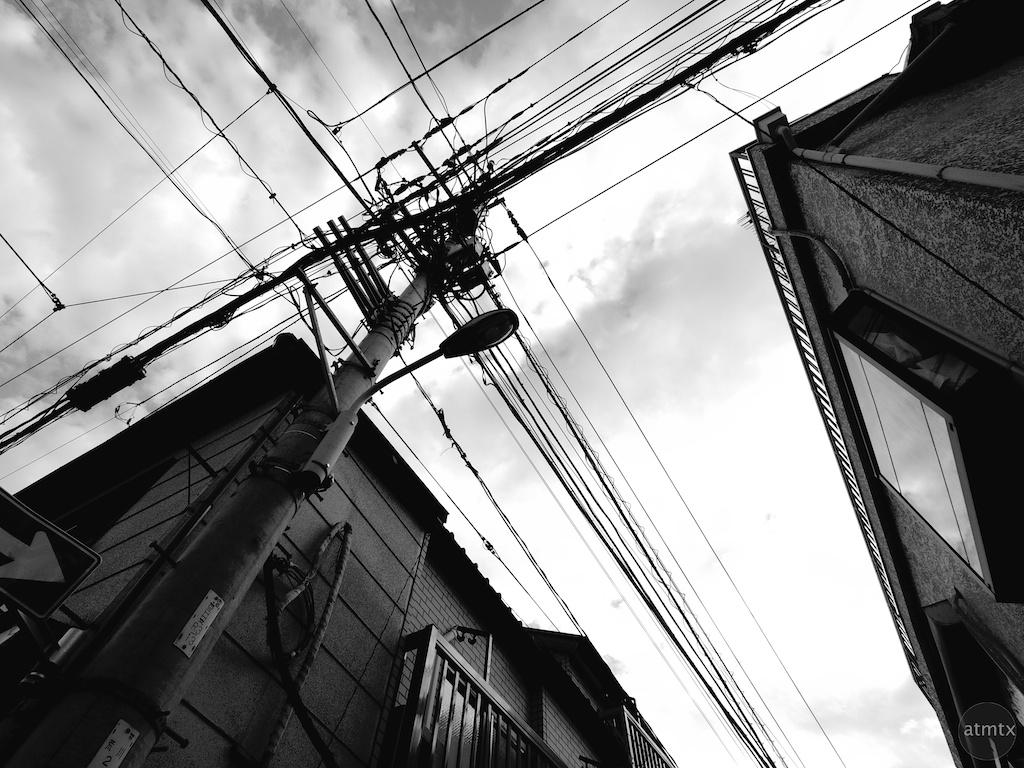 Power Line Geometry - Tokyo, Japan