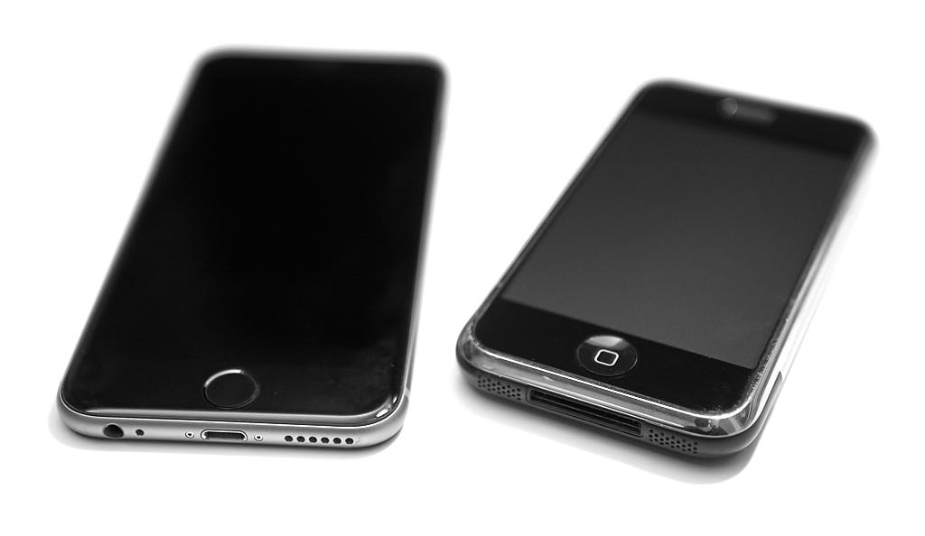 iPhone 6s and original iPhone