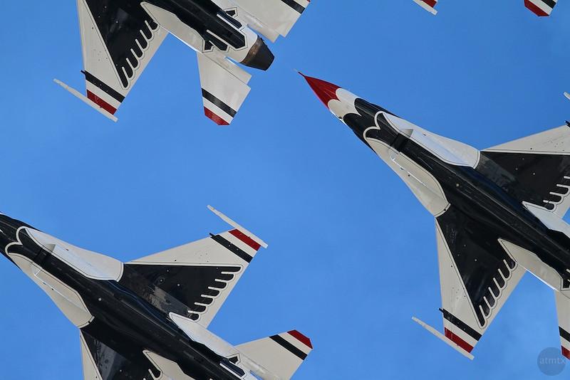 Air Force Thunderbirds, Closeup - San Antonio, Texas