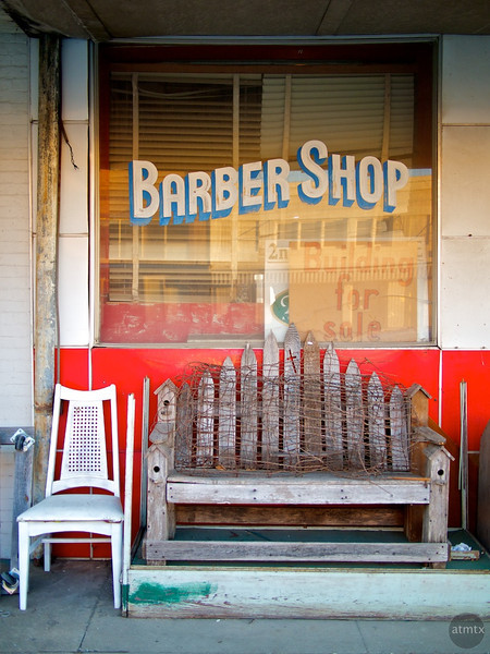 Alternate Uses, Barber Shop - Taylor, Texas