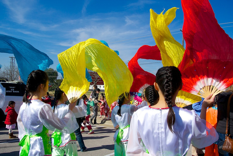 Waves of Color, 2014 Chinese New Year Celebration - Austin, Texas