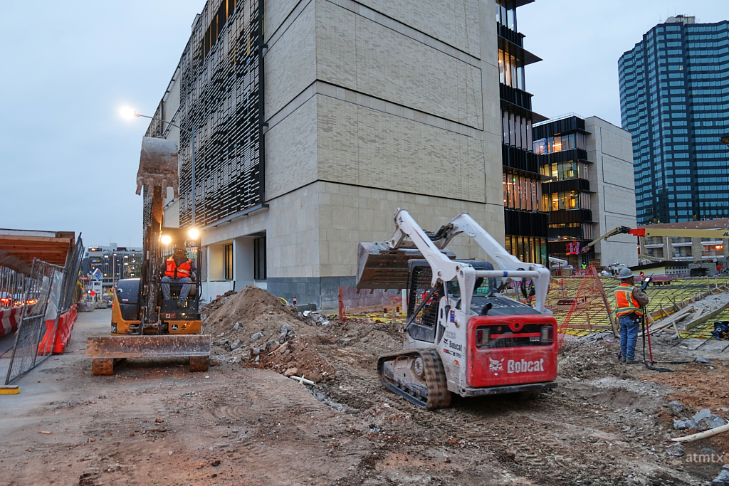 Rowling Hall Nearing Completion - Austin, Texas