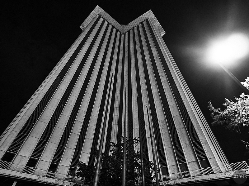 Facade, World Trade Center - New Orleans, Louisiana