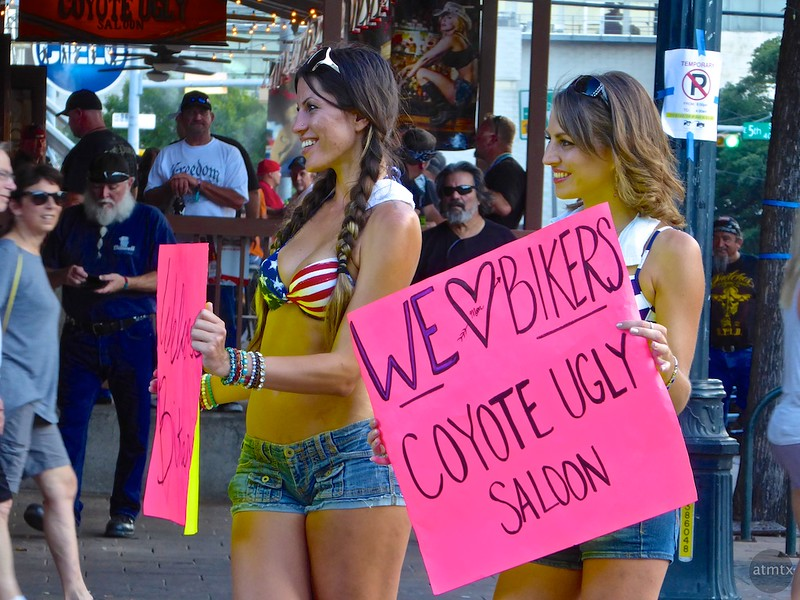Promoting Coyote Ugly, ROT Rally 2016 - Austin, Texas