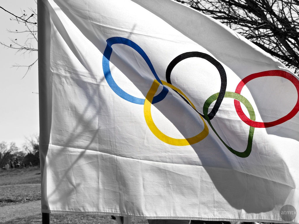 Elementary School Olympic Flag