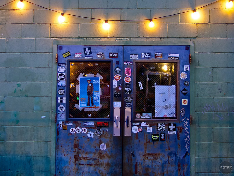 Jeweled Doorway, Hole in the Wall - Austin, Texas