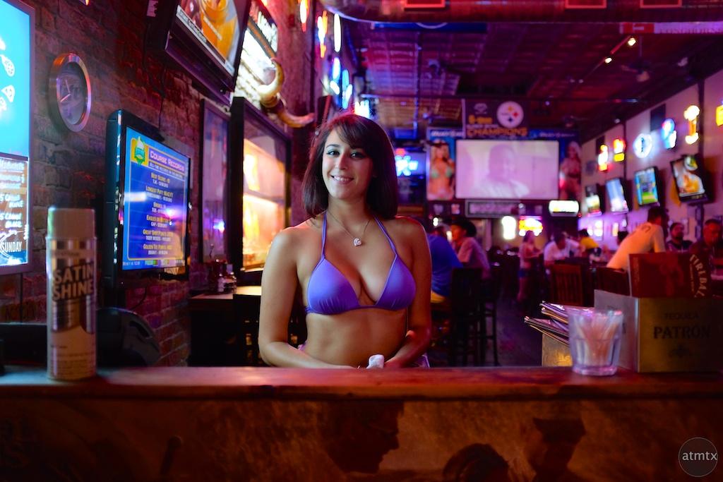 Lacey at Bikinis, 6th Street - Austin, Texas
