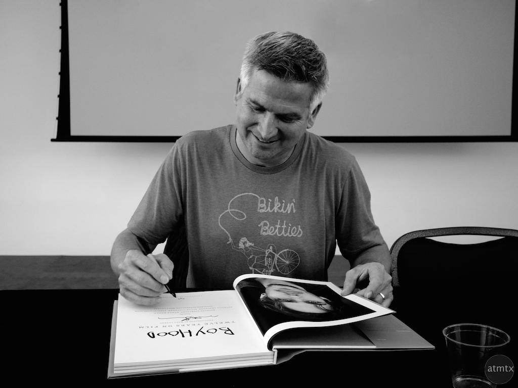 Boyhood Book Signing, Precision Camera - Austin, Texas