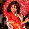 Kaori performing, Red River Street - Austin, Texas